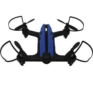 Dron Toy-Stand X-DRONE RACER NANO RC WHDWA en color azul y negro