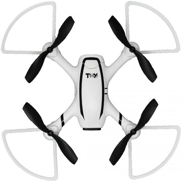 Dron Toy-Stand X-DRONE VISION H4 RC Altitude blanco con negro