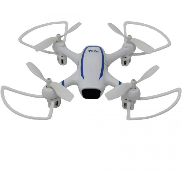 Dron Toy-Stand X-DRONE VISION H4 RC Altitude WHDWA blanco y azul